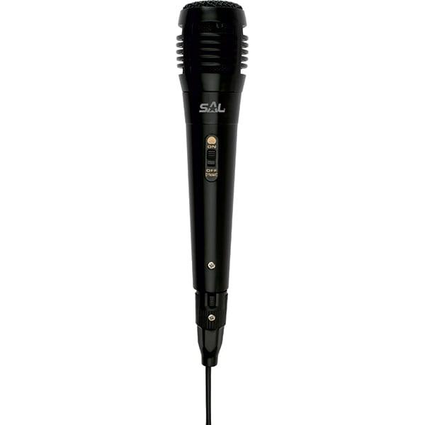 Microfon dinamic SAL M 61, Jack 6.3 mm, XLR, negru