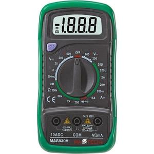 Multimetru digital SMA MAS 830, 9V, ecran digital