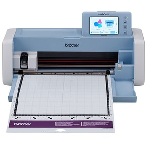 Scanner cu decupare BROTHER ScanNCut SDX1200, alb-bleu