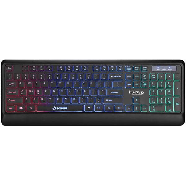 Tastatura Gaming MARVO K627, USB, negru