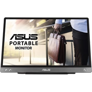 "Monitor LCD IPS ASUS ZenScreen MB14AC, 14"", Full HD, 60Hz, Flicker Free, gri inchis"
