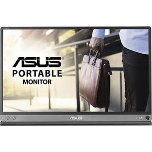 "Monitor portabil LED IPS ASUS ZenScreen MB16AC, 15.6"", Full HD, 60Hz, Flicker Free, gri inchis"
