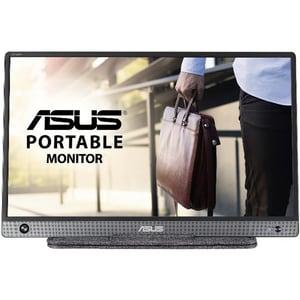 "Monitor portabil LED IPS ASUS ZenScreen MB16AH, 15.6"", 60Hz, Full HD, Flicker Free, gri inchis"