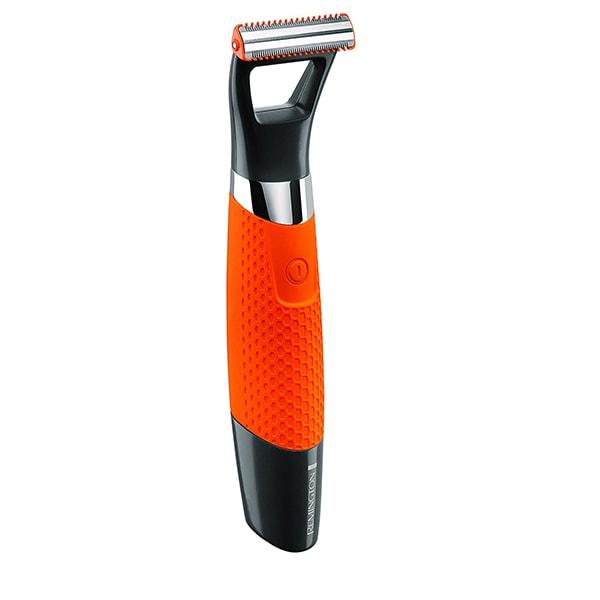 Aparat de ras si tuns barba REMINGTON DuraBlade MB050, acumulator, 60 min autonomie, portocaliu