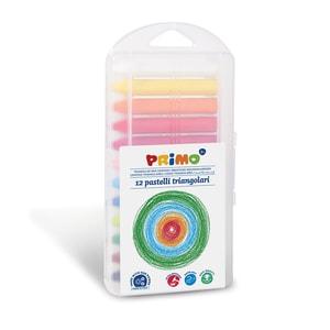 Creioane cerate MOROCOLOR Primo Supersoft, 12 culori