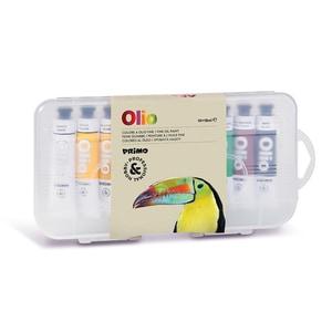Tempera pe baza de ulei MOROCOLOR Primo, 18 ml, 10 culori