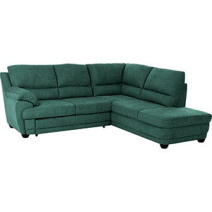 Coltar extensibil pe dreapta COTTA Dakota All Senses F196, 3 locuri, 245 x 225 x 99 cm, racing green