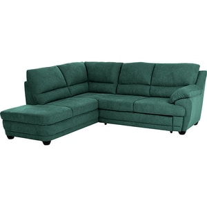 Coltar extensibil pe stanga COTTA Dakota All Senses F196, 3 locuri, 245 x 225 x 99 cm, racing green