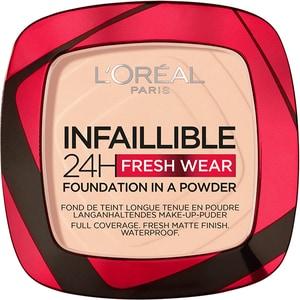 Pudra compacta L'OREAL PARIS Infaillible 24h Fresh Wear, 180 Rose Sand, 9g