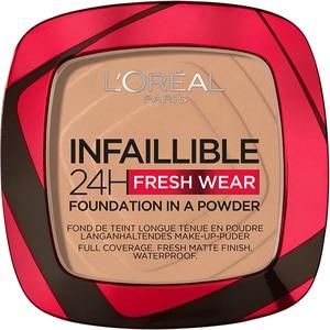 Pudra compacta L'OREAL PARIS Infaillible 24h Fresh Wear, 220 Sand, 9g