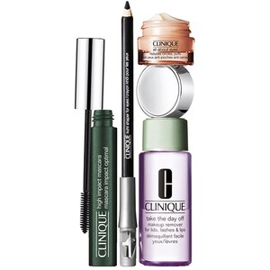 Set cadou CLINIQUE Eye Definition Make-up: Mascara, Black, 7ml + Demachiant, 50ml + Crema contur pentru ochi, 7ml + Creion de ochi