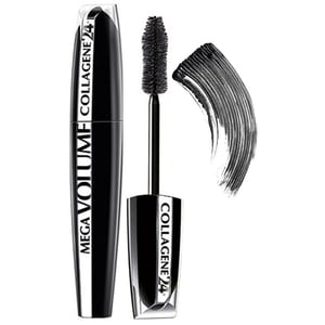 Mascara L'OREAL PARIS Mega Volume Collagen, Extra Black, 9ml