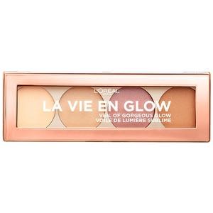 Paleta iluminatoare L'OREAL PARIS La Vie Englow, 01 Warmglow, 5g