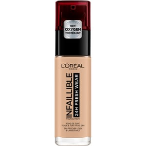 Fond de ten L'OREAL PARIS Infaillible 24H Fresh Wear, 145 Rose Beige, 30ml