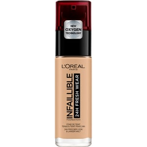 Fond de ten L'OREAL PARIS Infaillible 24H Fresh Wear, 200 Golden Sand, 30ml