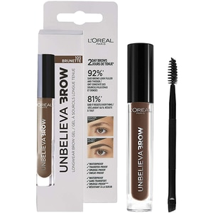 Gel pentru sprancene L'OREAL PARIS Unbelieva Brow, 105 Brunette, 3.4ml