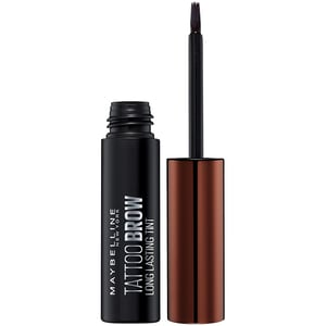 Vopsea pentru sprancene MAYBELLINE NEW YORK Brow Tattoo, Medium Brown, 4.6g