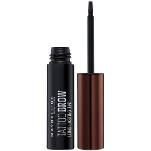 Vopsea sprancene sprancene MAYBELLINE NEW YORK Brow Tattoo, Dark Brown, 4.6g