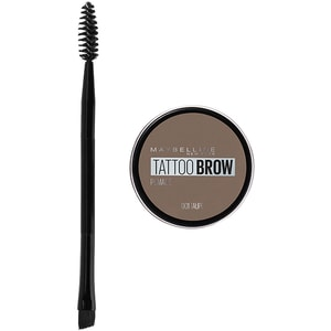 Pomada pentru sprancene MAYBELLINE NEW YORK Tattoo Brow, 01 Taupe, 4ml