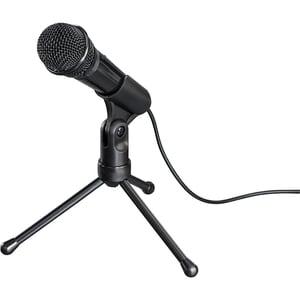 Microfon HAMA MIC-P35 Allround, Jack 3.5 mm, negru