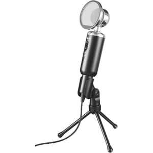 Microfon TRUST Madell Desk, 3.5mm, negru