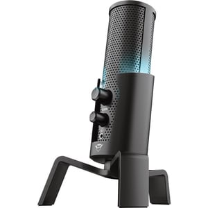 Microfon Gaming TRUST GXT 258 FYRU, USB, Iluminare LED, negru