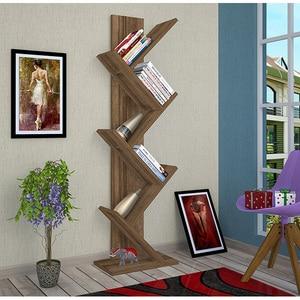Biblioteca Tree, nuc, 12 x 22 x 135 cm