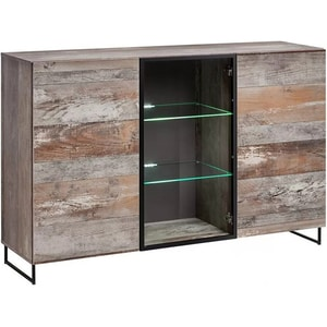Comoda living GENAROM Plank, stejar canion wood, 150 x 40 x 97 cm