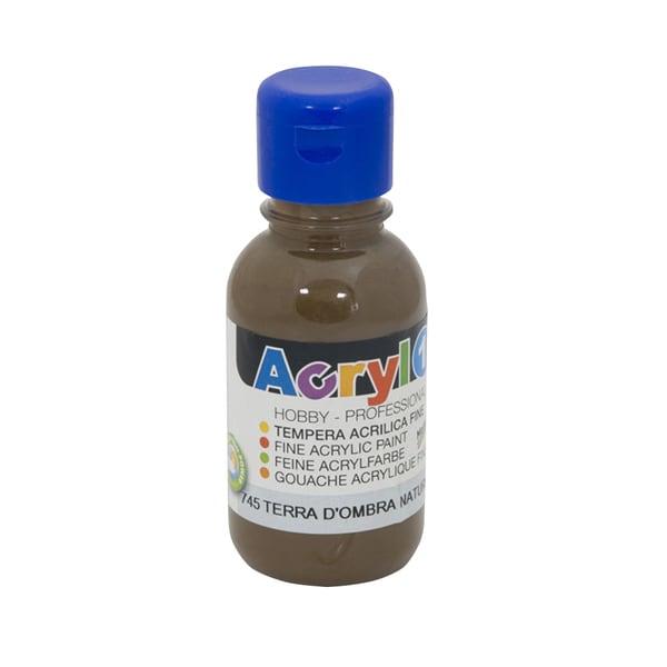 Tempera acrilica MOROCOLOR Primo, 125 ml, brun