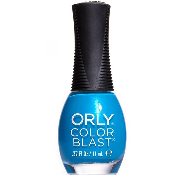 Lac de unghii ORLY Color Blast, 50016 Bright Blue Neon, 11ml