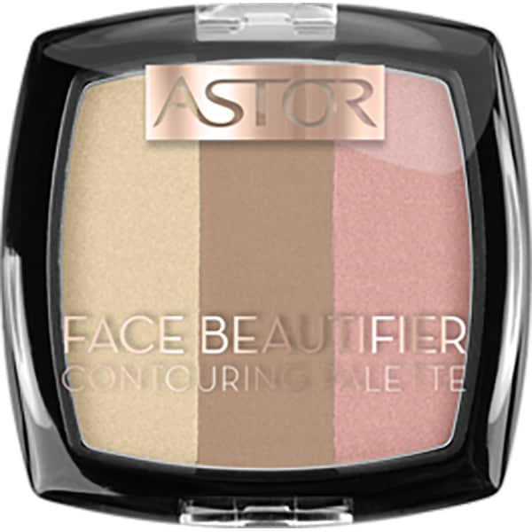 Paleta de conturare ASTOR Face Beautifier, 002 Medium, 9.2g