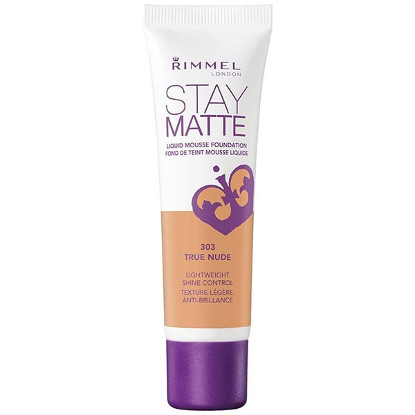 Fond de ten RIMMEL London Stay Matte, 303 True Nude, 30ml