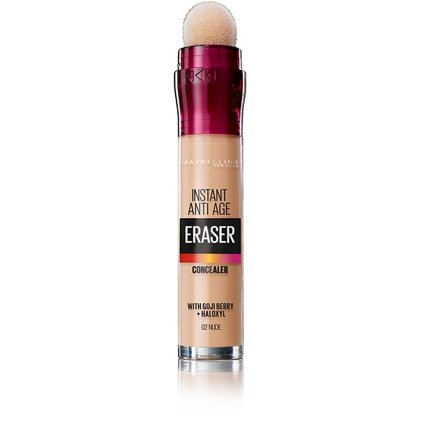 Corector MAYBELLINE NEW YORK Instant Anti Age Eraser, 02 Nude, 6.8ml