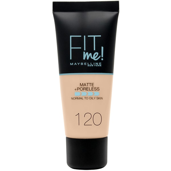 Fond de ten MAYBELLINE NEW YORK Fit Me Matte&Poreless, 120 Classic Ivory, 30ml