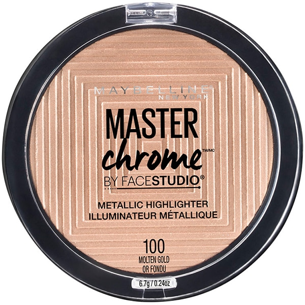 Iluminator MAYBELLINE NEW YORK Master Chrome, 100 Moltengold, 9g