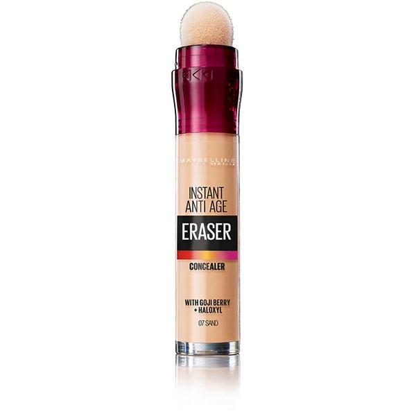 Corector MAYBELLINE NEW YORK Instant Anti Age Eraser, 07 Sand, 6.8ml