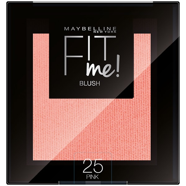 Fard de obraz MAYBELLINE NEW YORK Fit Me Blush, 25 Pink, 4.5g