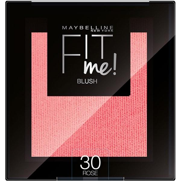 Fard de obraz MAYBELLINE NEW YORK Fit Me Blush, 30 Rose, 4.5g