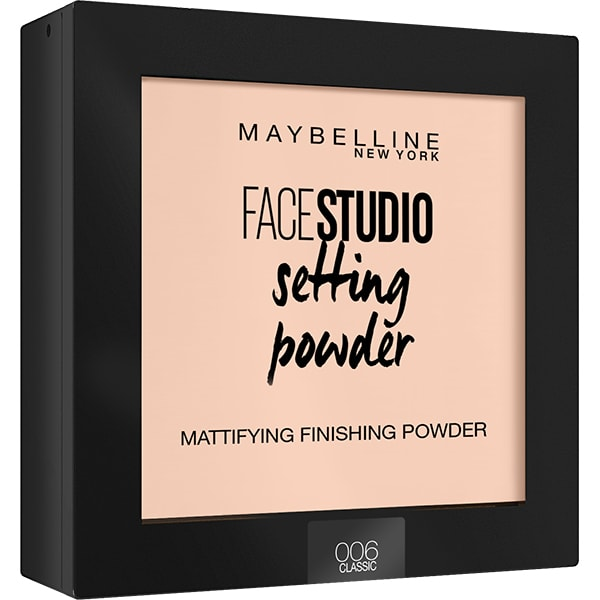 Pudra compacta de fixare MAYBELLINE NEW YORK Face Studio Setting Powder, 006 Classic