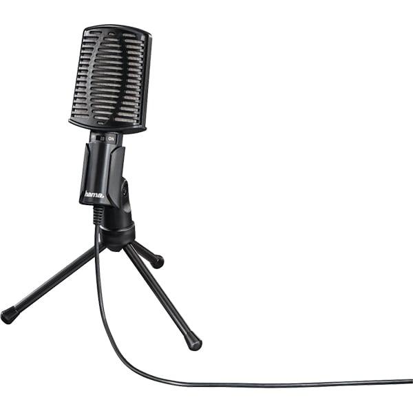Microfon HAMA MIC-USB Allround, USB, negru