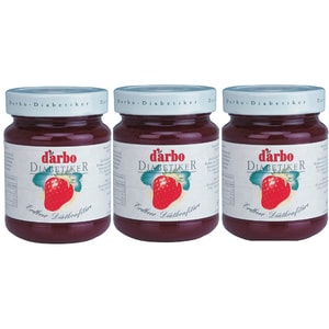 Gem capsuni DARBO, 330g, 3 bucati