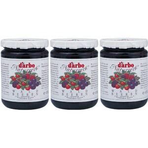 Gem de fructe de padure DARBO, 450g, 3 bucati