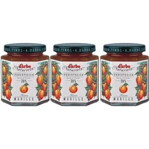 Gem de caise cu 70% fruct DARBO, 200g, 3 bucati