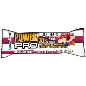 Baton energizant NATURE TECH Cheesecake, 50g, 6 bucati