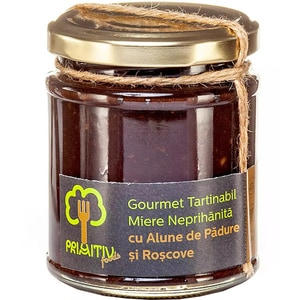 Gourmet tartinabil cu alune de padure si roscove PRIMITIV FOODS, 240g
