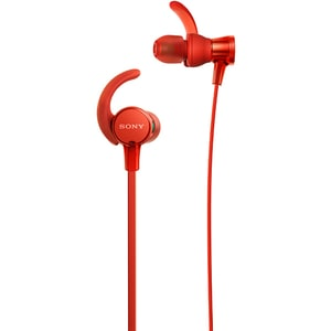 Casti SONY MDR-XB510ASR, Cu Fir, In-ear, Microfon, EXTRA BASS, rosu