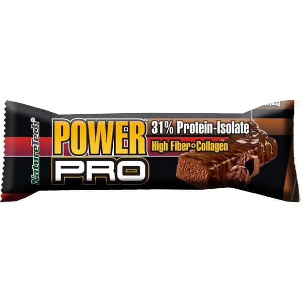 Baton energizant NATURE TECH Power Pro crema de ciocolata, 80g, 6 bucati