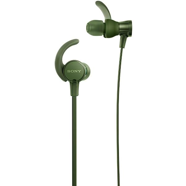 Casti SONY MDR-XB510ASG, Cu Fir, In-ear, Microfon, EXTRA BASS, verde