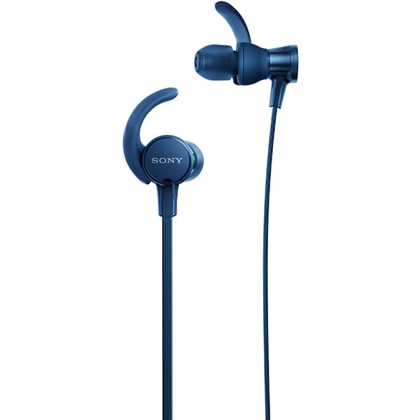 Casti SONY MDR-XB510ASL, Cu Fir, In-ear, Microfon, EXTRA BASS, albastru