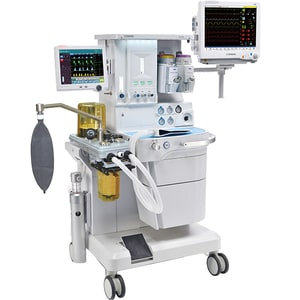 "Dispozitiv anestezie COMEN AX 700, 12.1"", Touch screen, Acumulator Li-ion, alb"